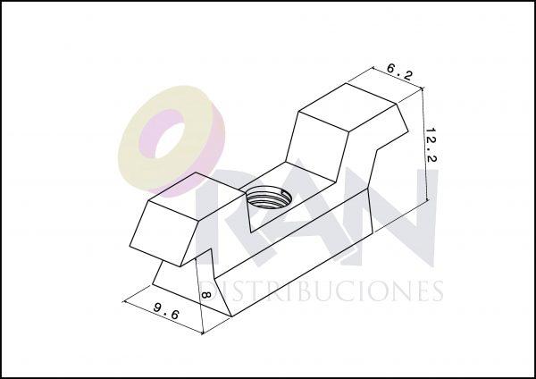 Contracierre Aluprón-21/640