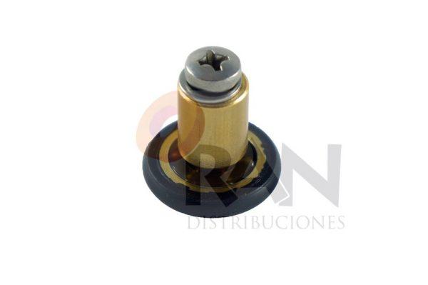 Frontal 20 mm bolas casquillo 12 mm arandela y tornillo métrica 4×20 inox