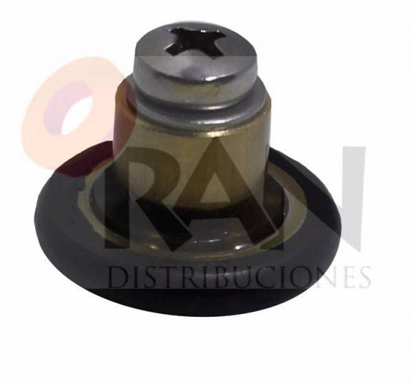 Frontal 20 mm bolas casquillo 6mm arandela y tornillo métrica 4×12 inox