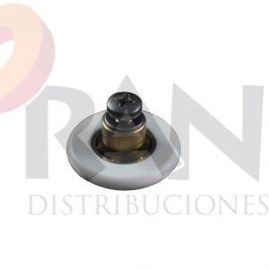 Frontal 26 mm bolas casquillo 6mm arandela y tornillo métrica 4×12 inox