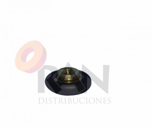 Rodamiento frontal 16mm bolas, con tornillo métrica 3×6