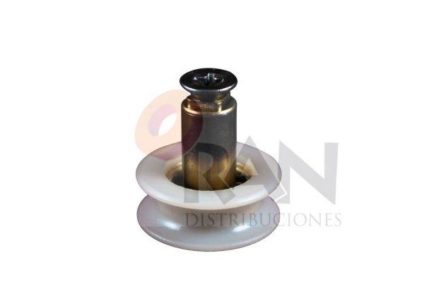 Rodamiento semicircular 24 mm bolas con tornillo métrica 5×10
