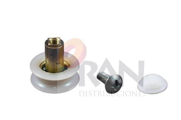 Rodamiento semicircular 24mm bolas con tornillo métrica 5×10