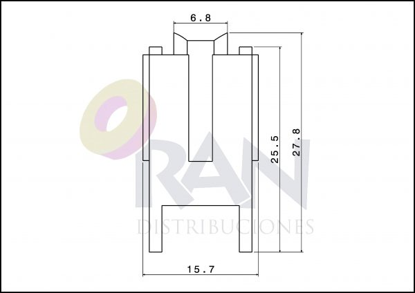 Serie Aluprón 21 / 640 nylon